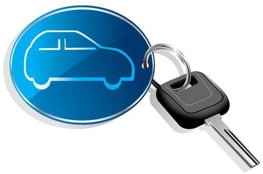 ключ с авто