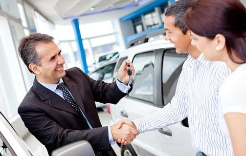 вручение ключей от автомобиля