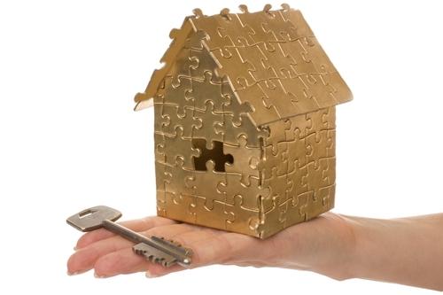 дом-пазл с ключем