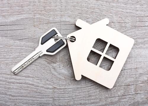 ключ с домом