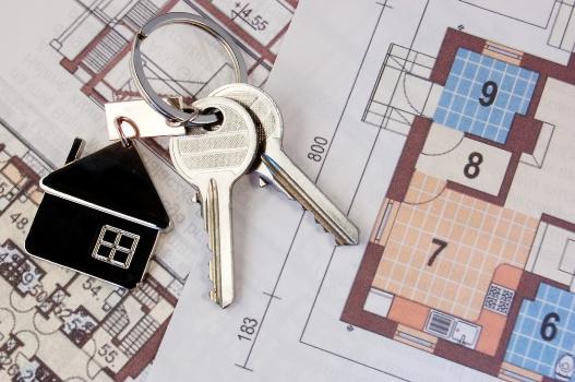 ключ с планировкой