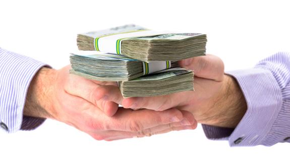 деньги наличными