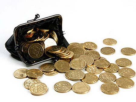 деньги из кошелька