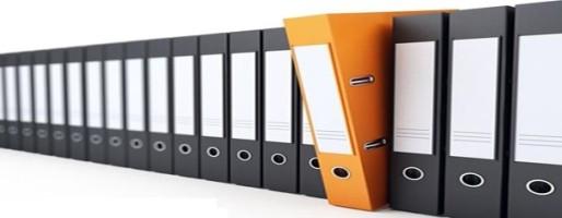 папка с документам по кредитам