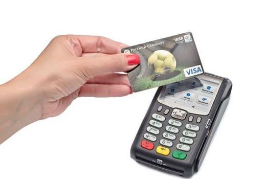 оплата картой банка в одно прикосновение
