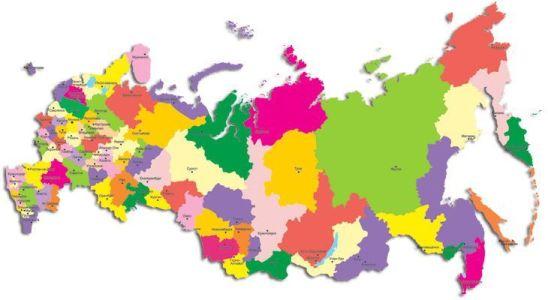 по регионам россии
