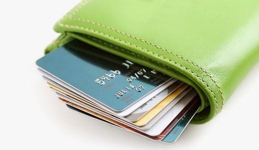 кошель с кредитками
