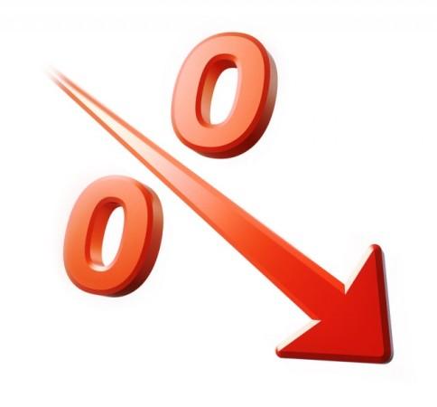 падение процента