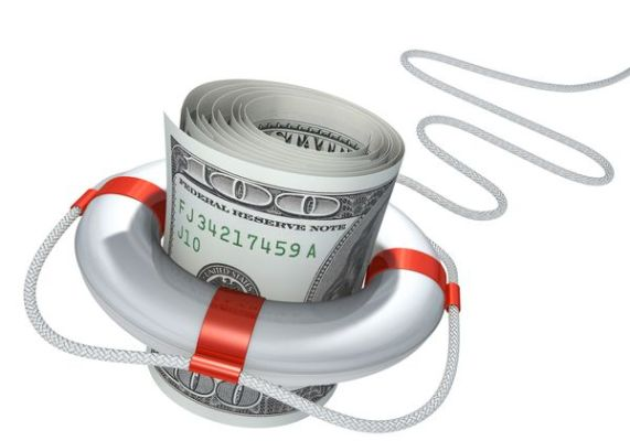 спасательный круг долларов