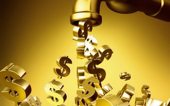 доллары из крана