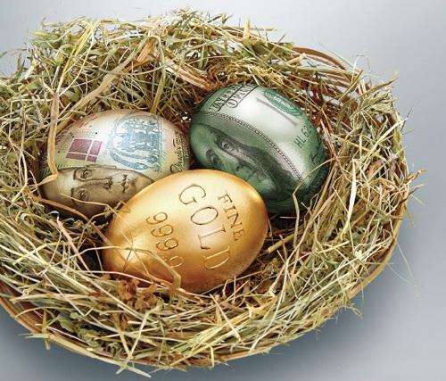 денежные яйца