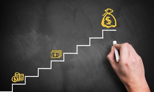 по лестнице к деньгам
