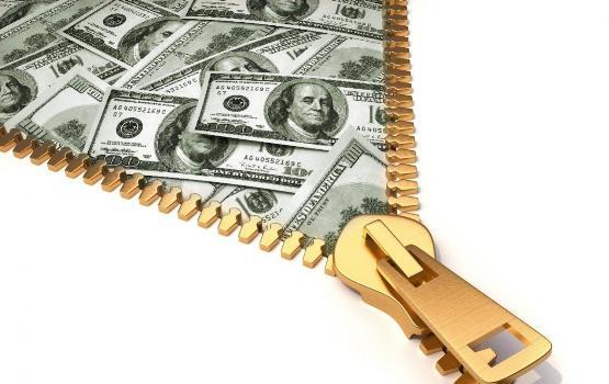 расстегнуть доллары