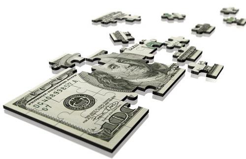 доллар по частям